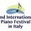 International Piano Festival in Italy