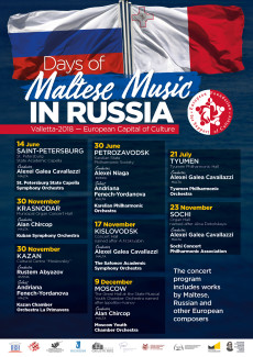 Days of Maltese Music in Russia