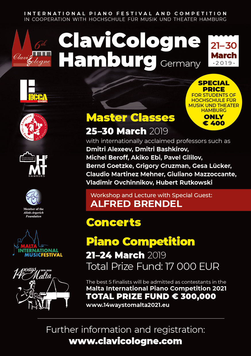 ClaviCologne International Piano Festival and Competition | EFSC
